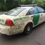 Man denies purposely spraying manure on border patrol car